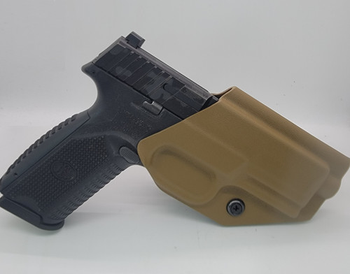 FN 509 Tactical Outside Waistband Holster Coyote Brown