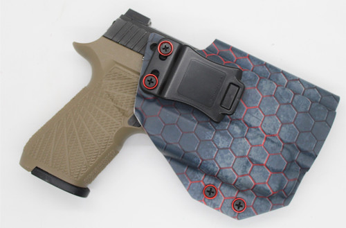 SIG P320 x Carry W/ TLR8 Red Hex