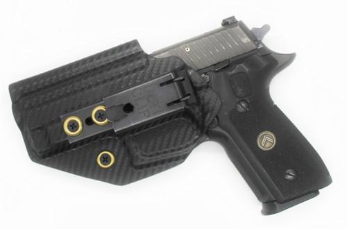 Sig P229  9MM Railed Black Carbon Inside Waistband
