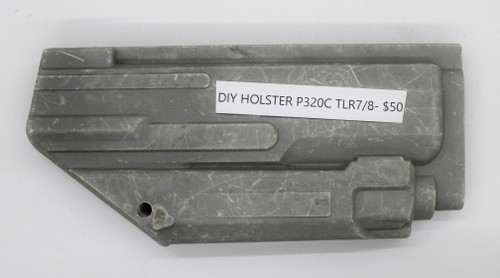 DIY Holster P320C TLR7/8 CNC Mold