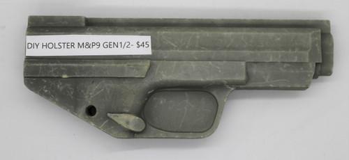 DIY Holster M&P9 Gen1/2 CNC Mold