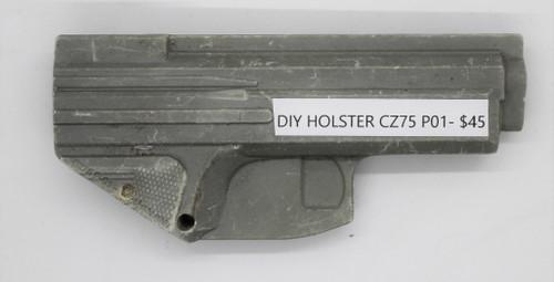 DIY Holster CZ 75 P01 CNC Mold