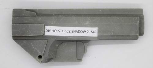 DIY Holster CZ Shadow 2 CNC Mold