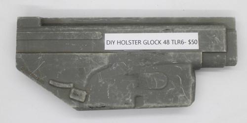 DIY Holster Glock 48 TLR6 CNC Mold
