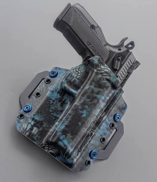 CZ Shadow 2 Outside Waistband Kryptek Holster