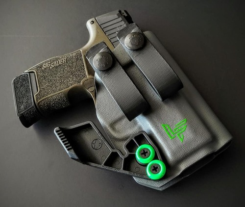 Sig P365 Soft Loops Appendix Carry Holster with Soft Loops