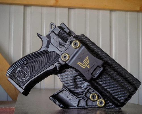 CZ P-01 Appendix Carry Carbon Fiber Kydex Holster