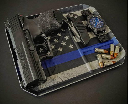 THIN BLUE LINE EDC TRAY
