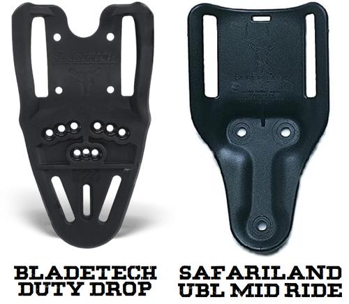 Bladetech Duty Drop Vs. Safariland UBL