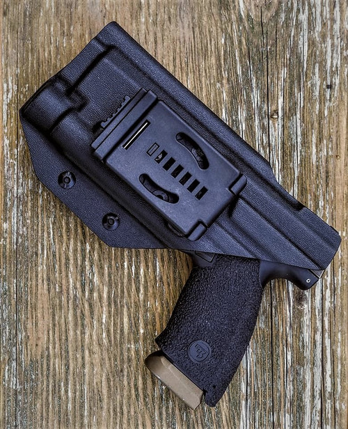 CZ P10f OLight PL Pro Outside Waistband Holster