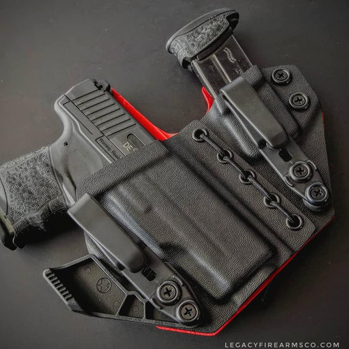 Walther PPS M2 Appendix Carry Rig Holster with Shockcord
