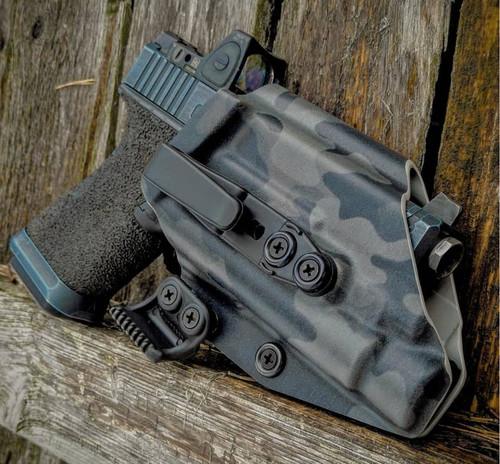 Glock 19 X300 Appendix Carry Holster Black Multicam
