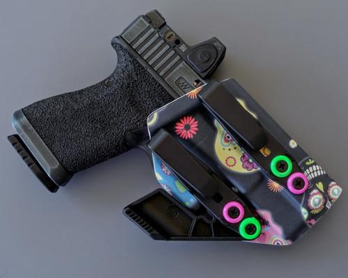 Glock 19 Sugar Skulls Holster