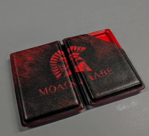 Molon Labe Wallet/Business Card Holster