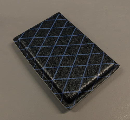 Blue Diamond Wallet/Business Card Holster
