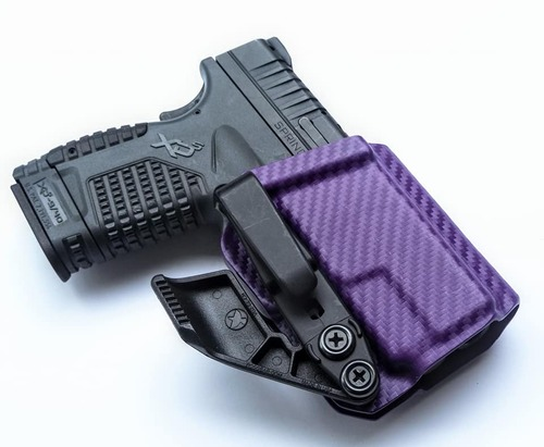 Springfield XDS Purple Carbon Fiber Holster