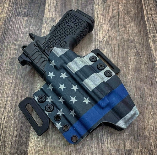 STI Staccato C2 Duo Surefire X300 Outside Waistband Holster