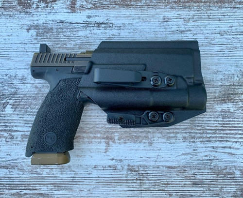 CZ P10f with Streamlight TLR1 Inside Waistband Holster