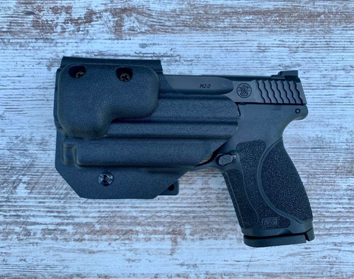 """M&P 3.6"""" with OLight Mini 2 Inside Waistband Holster"""