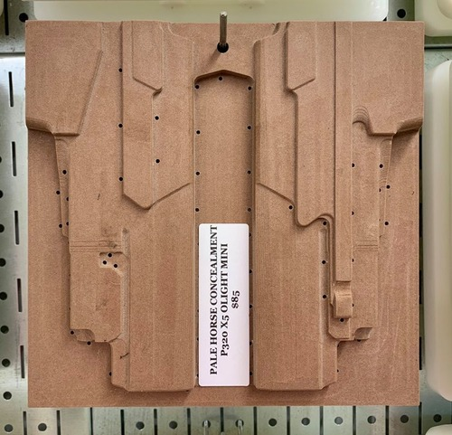 Palehorse Concealment P320 X5 OLight Mini CNC Mold