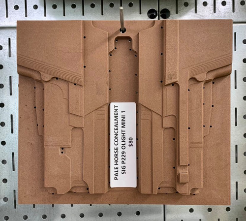 Pale Horse Concealment Sig P229 w/ OLight Mini 1 CNC Mold