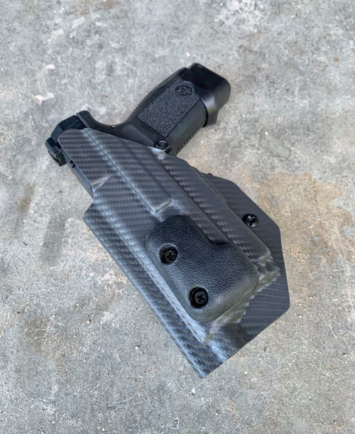 Canik TP9sf Elite Combat w/ OLight Mini 2 Light Bearing Inside Waistband Holster