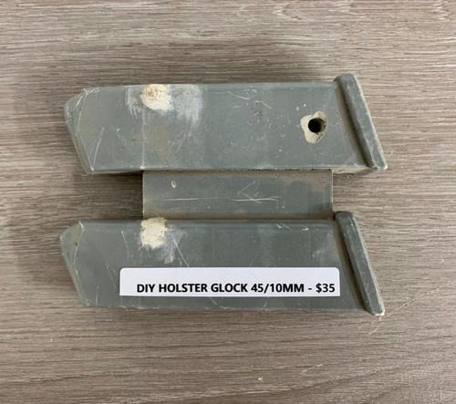 DIY Holster Glock 45/10mm CNC mold
