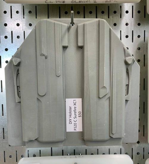 DIY Holster P320 C Surefire XC1 CNC Mold
