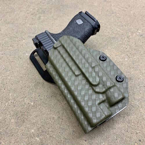 Glock 9/40 Universal (17/19/22/23/34/35) w/Streamlight TLR 1 Light Bearing UBL Drop Holster
