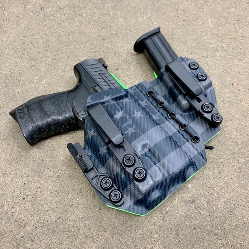 Walther PPQ 9/40 w/ Streamlight TLR 7/8 Appendix Inside Waistband Holster