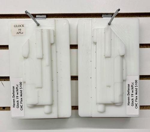 Haven Defense Glock 19 w/APLc CNC Flex Mold