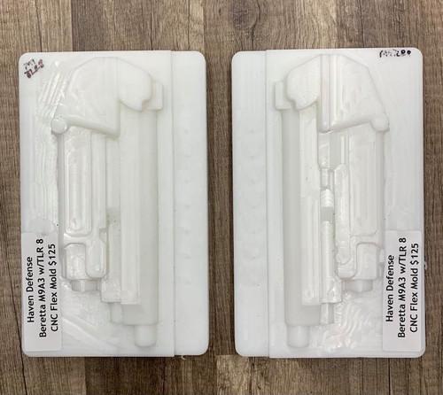 Haven Defense Beretta M9A3 w/TLR 8 CNC Flex Mold NEW