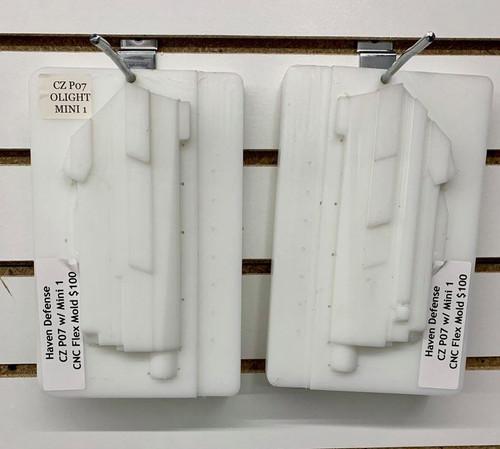 Haven Defense CZ P07 w/ Mini 1 CNC Flex Mold