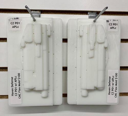 Haven Defense CZ P01 w/ APLc CNC Flex CNC Mold