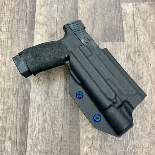 "Smith & Wesson M&P 4.25"" w/ Surefire X300 Light Bearing Outside Waistband Holster"