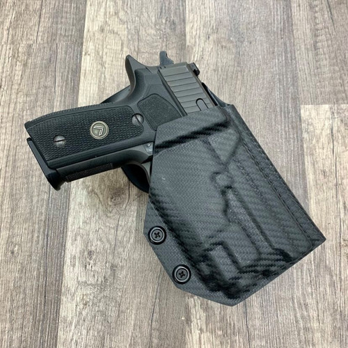 Sig P229 w/ TLR 8 Light Bearing Outside Waistband Holster