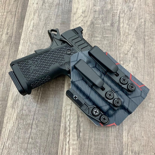 Staccato C2 Duo w/ OLight Mini 2 Light Bearing Inside Waistband Holster