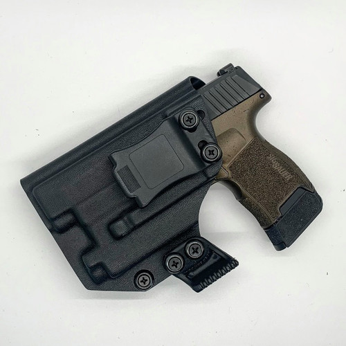 Sig P365 w/ Recover Tactical Rail & OLight Mini 2 Inside Waistband Holster