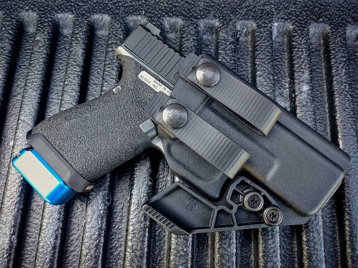 Glock 19 Soft Loop Appendix Carry Holster