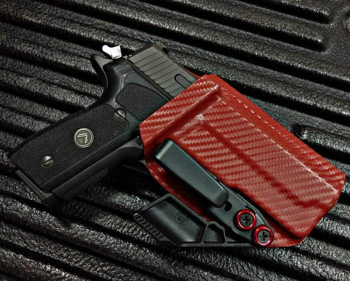 Sig P229 Legion Red Carbon Fiber Holster