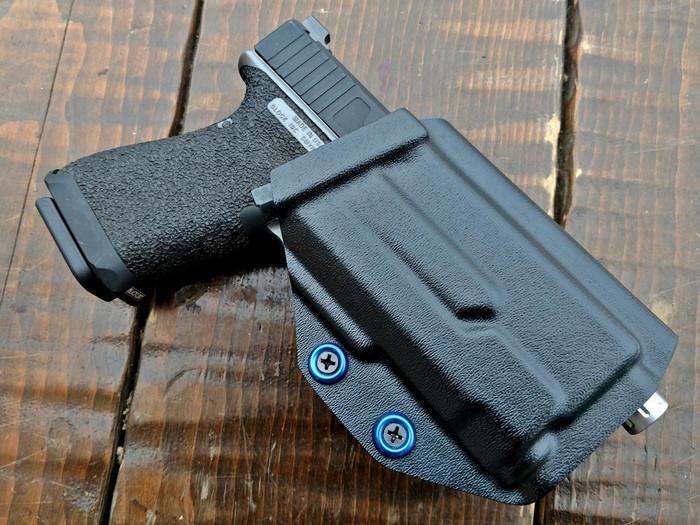 Glock 19 Inforce APLc Paddle Holster