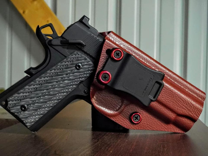 "4.25"" Non-Railed 1911 (Not Sig) Cronus Holster Raptor"