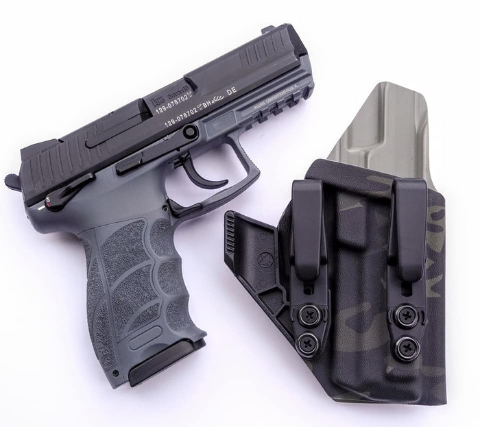 HK P30 Appendix Carry Holster Black Multicam
