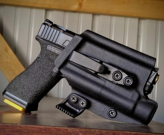 Glock 19/23 w/ TLR1 Appendix Carry Holster