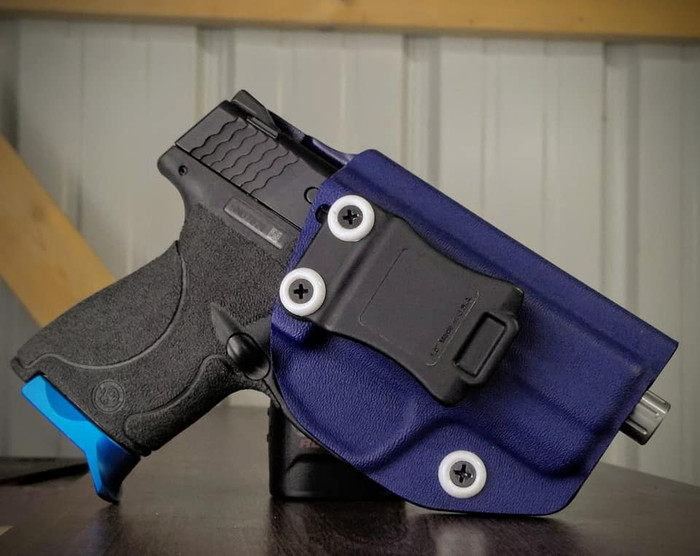 S&W M&P Shield 9/40 Cronus Police Blue Holster