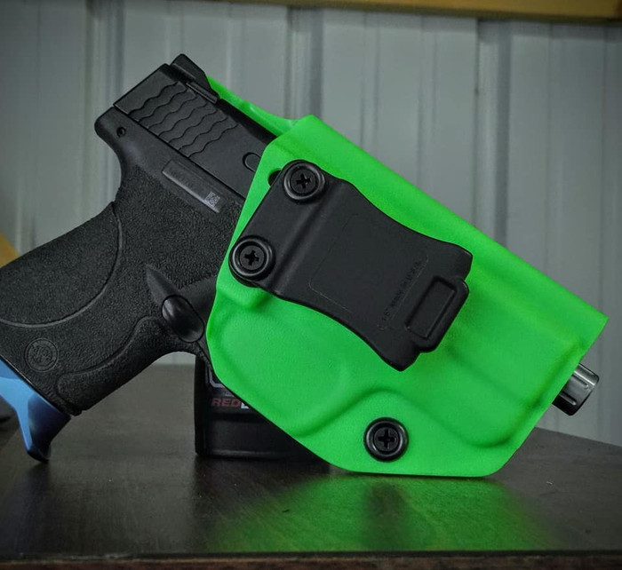 S&W M&P Shield 9/40 Cronus Zombie Green Holster