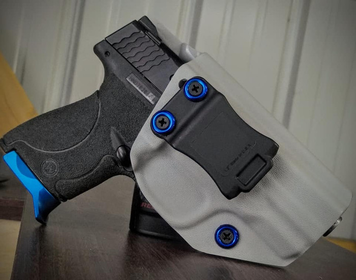 S&W M&P Shield 45 Cronus Battleship Gray Holster