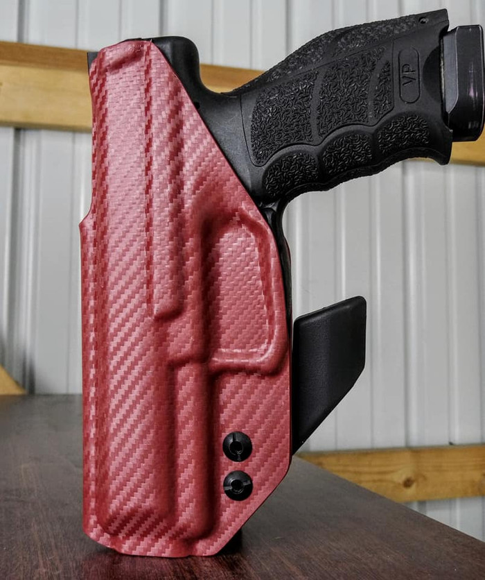HK VP9 Centaur Holster Blood Red Carbon