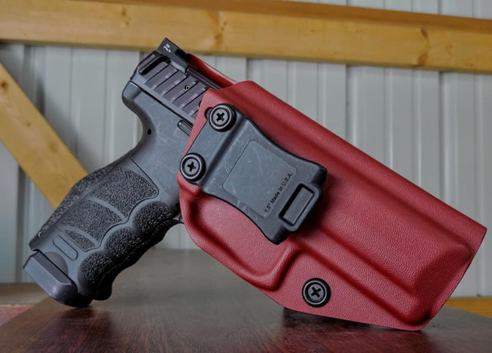 HK VP9 Cronus Holster Blood Red