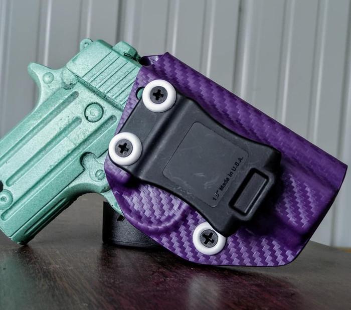 Sig P238 Cronus Holster Purple Carbon